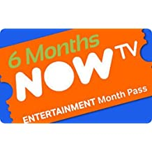 6 Months Sky Entertainment PASS For Now Tv