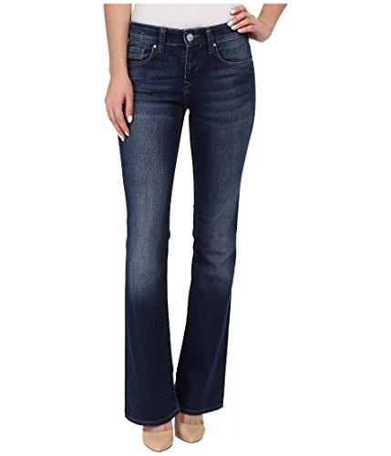 Mavi Jeans Women's Molly Mid-Rise Classic Bootcut In Indigo Nolita Indigo Nolita Jeans 25 X 34 (Bootcut Classic Rise)