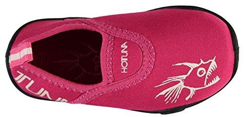 Hot Tuna, Scarpe da immersione bambini Pink/White