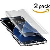Samsung Galaxy S7 edge Panzerglas Duott Anti-Luftblase HD-Qualität Displayschutzfolie 9H Panzerglas 0,22mm Panzerglasfolie Für Galaxy S7 edge Schutzfolie [Vollständige Abdeckung][2 stück]