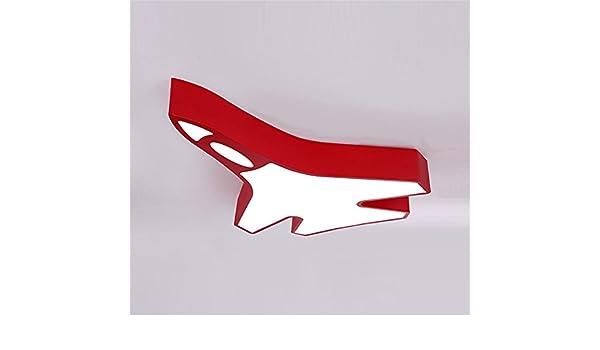 Plafoniere Rosse Da Esterno : Chlight 60cm camera dei bambini plafoniere rosse creative acrilico a