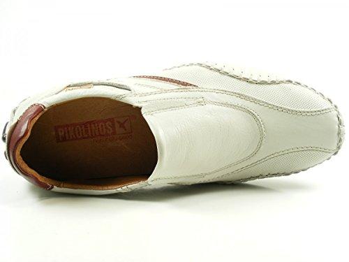Pikolinos 15A-6079 Fuencarral Schuhe Herren Halbschuhe Slipper Weiß