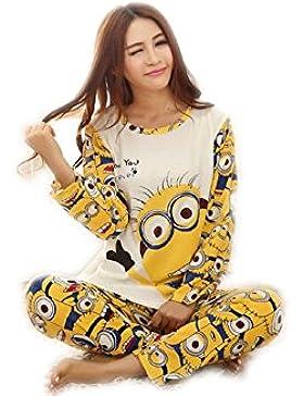 XYX Pigiama lovers donna camicia da notte indumenti da notte vestaglia donna pigiama uomo