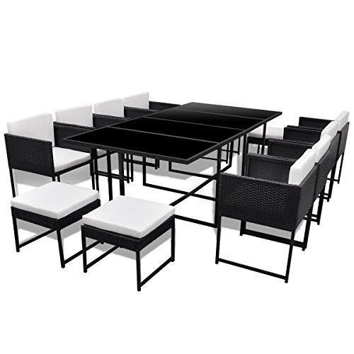 Poly Rattan Gartenmöbel Set Sitzgruppe Gartengarnitur