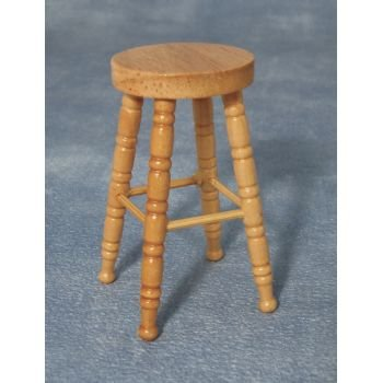1:12 Scale Dolls House Miniatures Bar Stool DF850 - inexpensive UK light store.