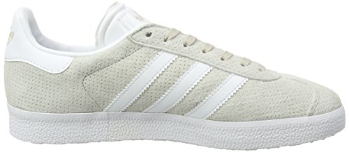 adidas Damen Gazelle Sneakers Braun (Clear Brown/footwear White/gold Metallic)