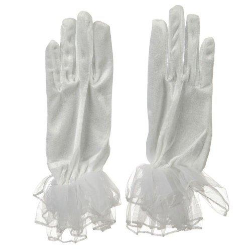 Jacobson Hat Company Organza Glove - White