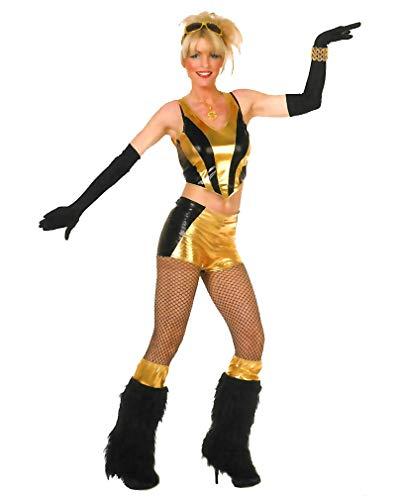 Horror-Shop Pop Sternchen Kostüm S / 36 (Gogo Tänzerin Outfit)