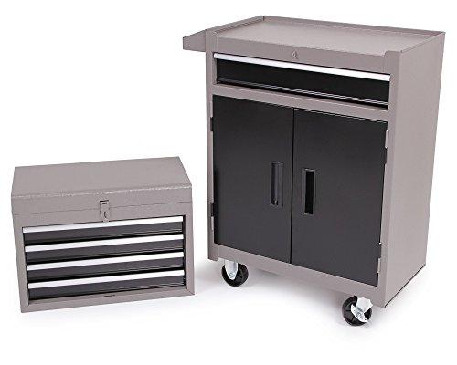 Ondis24 Werkstattwagen Werkzeugwagen abschließbar mit Lenkrollen inkl. Werkzeugkoffer TOP Aktion - begrenzter Zeitraum und Mengen ! - 4