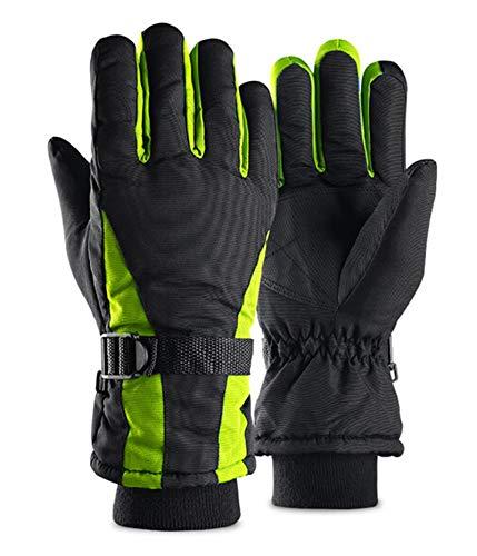 Anyeda Trainingshandschuhe Xs Damen Handschuhe Warme Bewegung Reiten Motorrad Verdicken Samt Wasserdichte Rutschfeste Handschuhe Grün Einheitsgröße