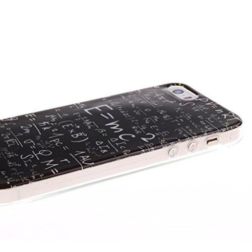 iPhone 6 / 6S Hülle, Hamyi Weiches TPU SchutzhülleSlim Fit für iPhone 6 und iPhone 6S (4,7 Zoll) (Sexy Girl) Mathematical Equations