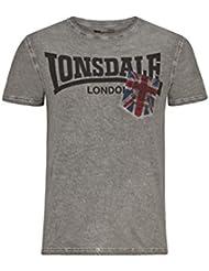 Lonsdale - Longfield, color gris, talla XXL