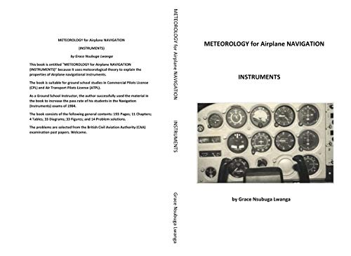 METEOROLOGY for Airplane NAVIGATION: INSTRUMENTS (English Edition)