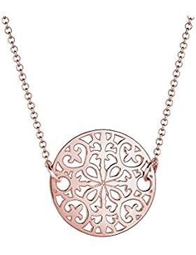 Elli Halskette Ornament Münze 925 Silber