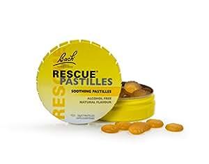 Rescue Pastilles Orange and Elderflower 50gram