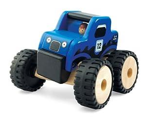 Wonderworld - Mini camion con Ruedas Grandes, de Madera (WW4041)