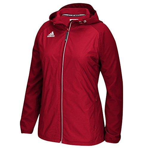 Adidas Modern Varsity Womens Woven Jacket M Power Red
