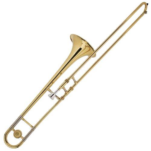 Cecilio TB-280 - Trombón (en si bemol, latón), color dorado