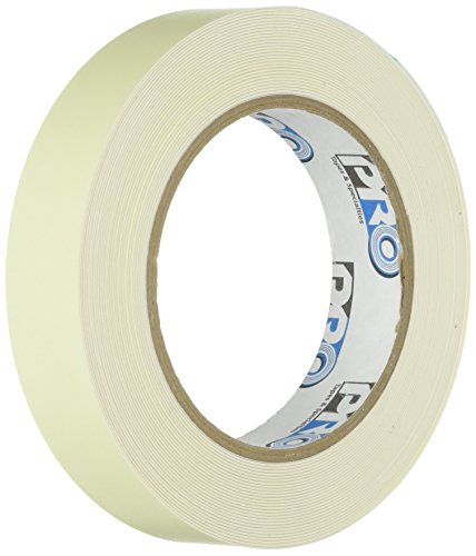 Pro Tapes Pro-Glow Glow in the Dark Tape (10 Hour): 1/2 in. x 30 ft. (Luminescent Lime Green) by Pro Tapes