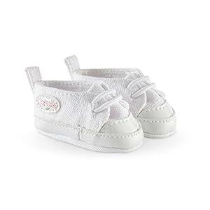 Corolle FCW21 - Zapatos Deportivas para muñeca, 36cm, Blanco