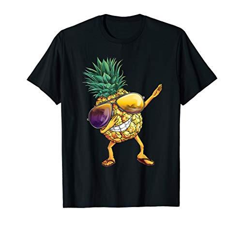Ananas Pineapple Beach TShirt I Frucht Sonnenbrille Shirt