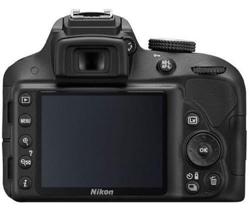 Nikon D3300 Digital SLR Camera (Black) Body Only with 4 GB Card and Camera bag