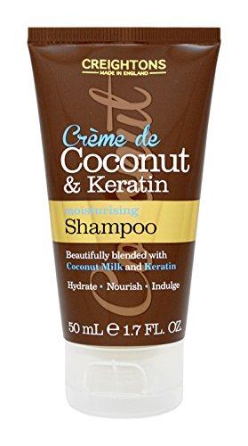 Crème de noix de coco & Shampooing Kératine 50 ml – Format voyage