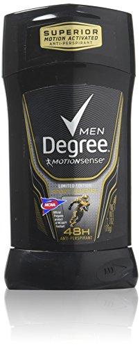 Degree Stick d'anti-transpirant/déodorant invisible Sport - Série Adrénaline - Défense sport - Pour homme - 80 ml