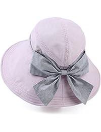 Beach Sun Hat Fashionable Eaves Sunscreen UV Sun Hat Female Summer Sun Hat Outdoor Travel Folding Beach Hat Soft and comfort