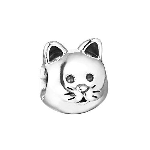 Katze Pandora-Charm 925er Silber 791706