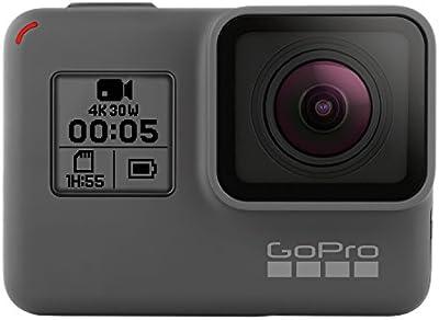 GoPro HERO5Videocámara 12Mpx, 4K/30FPS, 1440p/80FPS, 1080p/120FPS, Wi-Fi, Bluetooth (Italia)