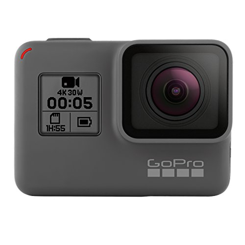 GoPro HERO5 Black - Cámara de acción (12 Mpx), color negro y gris