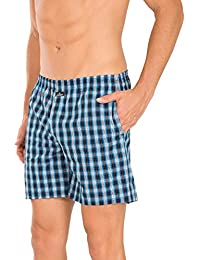 Jockey Multi Colour Check Boxer Short (Pack Of 2) Style #1223 (Size-Small)