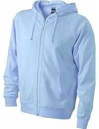 JAMES & NICHOLSON Sweatjacke Hooded - Sweat-shirt - Homme