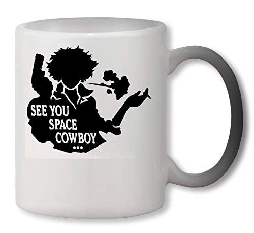 KRISSY See You Space Cowboy Heat Mug Color Changing Cup Farbwechsel Tasse