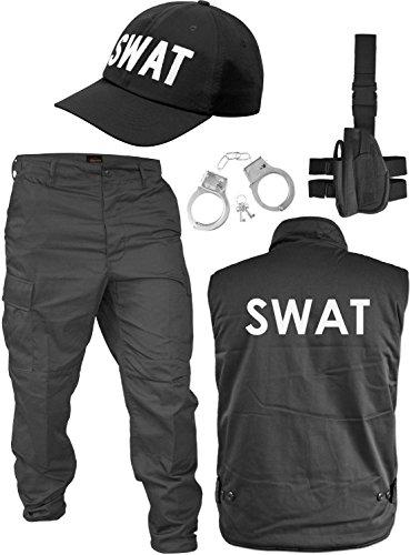 normani Winter SWAT Kostüm bestehend aus wattierter Weste, -