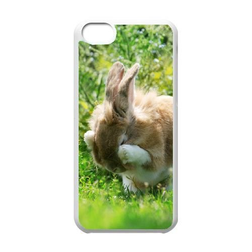TOPDIY Customized Cell Phone Case for iPod Touch 6 with Bunny Complex