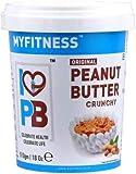 MYFITNESS Crunchy Peanut Butter 510g (Pack of 2)