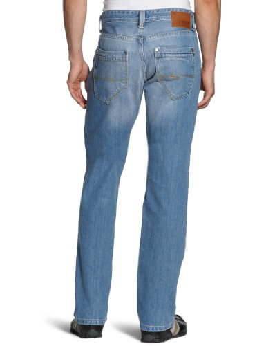 Cross Jeans Herren Jeanshose/Antonio, Straight Fit Blau (Silver lake mid blue used)