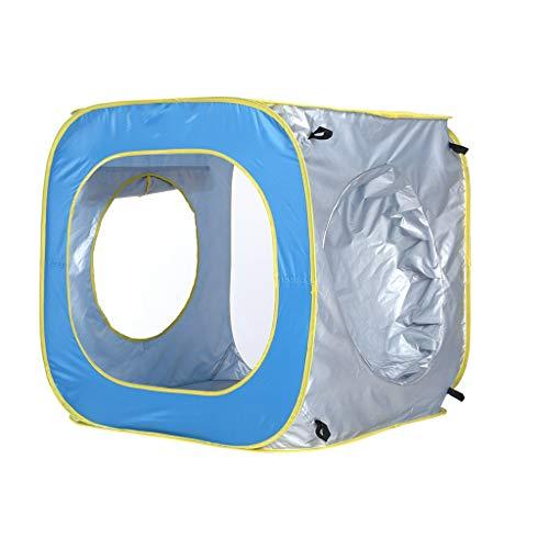 Spiel Strand Kind Zelt Frei im Freien Sonnencreme schwimmen Pool Spielhaus Puzzle Spielzeug Innen abspielen für Kinder Im oben Faltbar zum Baby & Kleinkind - Runde Matratze Legen