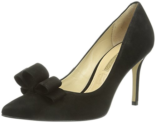 Buffalo London ZS 3365-13 NUBUCK, Scarpe col tacco donna, Nero (nero (black 01)), 39 EU (6 Damen UK)