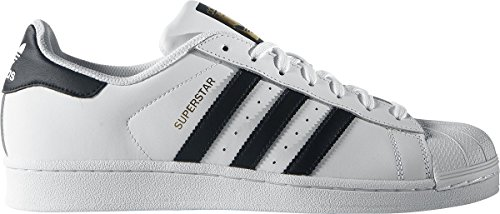 adidas Superstar Foundation, Scarpe da Ginnastica Basse Unisex - Adulto White