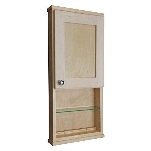 Holz Schränke Direct 8,9cm Tief im Hamilton Shaker Serie an der Wand Schrank mit 15,2cm offenen Regal, 61cm (Shaker-schrank-türen)