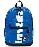ZAINO INVICTA - JELEK - Logo Blu - tasca porta pc padded - 38 LT - Scuola e tempo libero