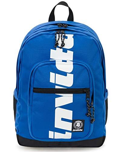4a9e093ad7 ZAINO INVICTA - JELEK - Logo Blu - tasca porta pc padded - 38 LT - Scuola e  tempo libero