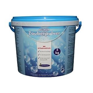 AQUA CLEAN PUR Zauberpulver 5kg Mit Hygieneaktivator Universal Fleckenentferner