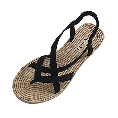 Sandalias Mujer Sandalias Mujer Verano 2019 Sandalias Planas Sandalias de Vestir Playa...