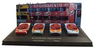 Best Model - 9474/d - Véhicule Miniature - Modèle À L'échelle - Porsche 908/3 - Coffret Targa Florio 1970 - Echelle 1/43