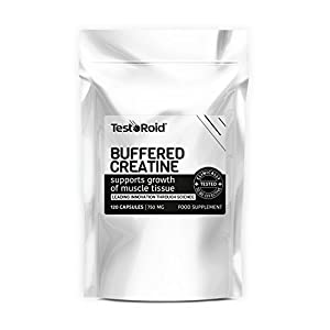 New Generation Testoroid Buffered Creatine Monohydrate **amazing Results** Massive 1500mg Per Dose by TestoRoid