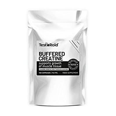 New Generation Testoroid Buffered Creatine Monohydrate **amazing Results** Massive 1500mg Per Dose by TestoRoid